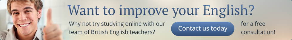 Want to improve your English? Why not try studying online with our team of British English teachers?